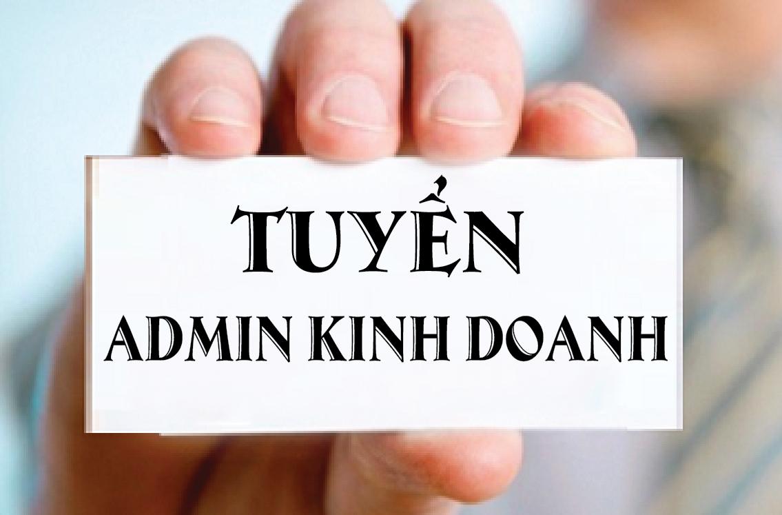 Tuyển dụng Admin kinh doanh