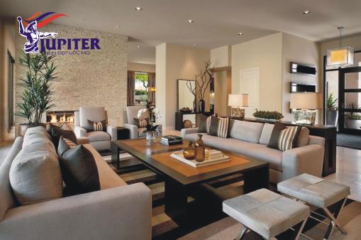 Phòng khách đẹp sang trọng và đẳng cấp