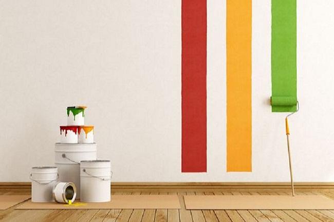 Khắc phục những sự cố khi sơn nhà