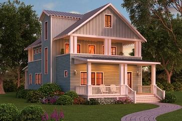 Vài gợi ý về kiến trúc nhà gỗ hiện đại