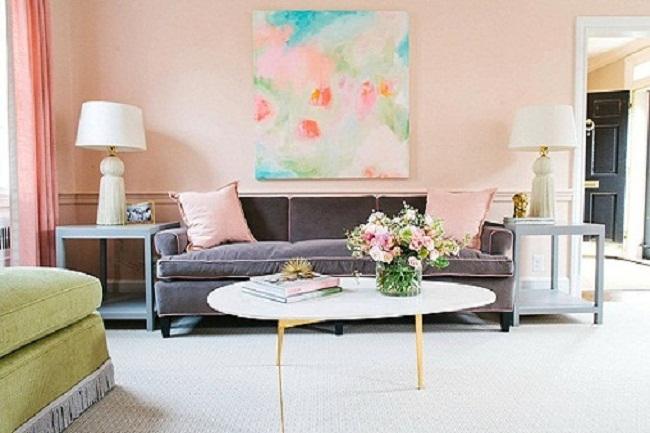 Xu hướng chọn màu sơn nội thất nhà đẹp năm 2018