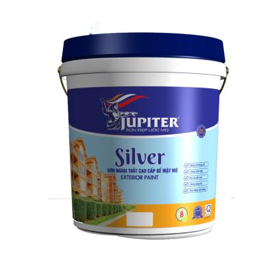 Sơn ngoại thất cao cấp bề mặt mờ Silver