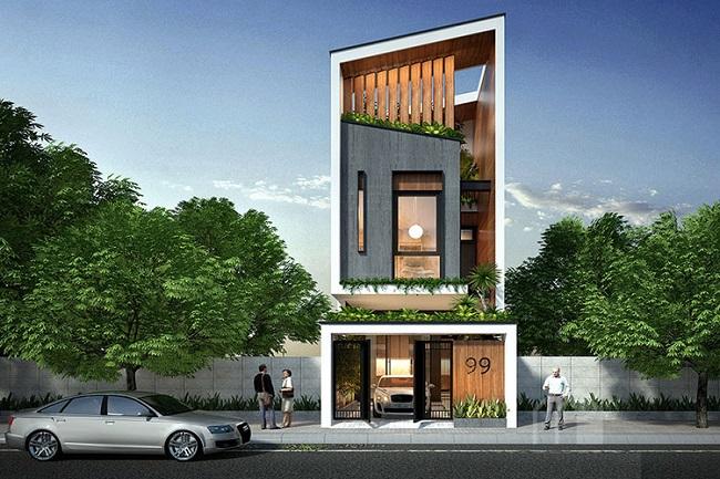 Những mẫu nhà phố 3 tầng đẹp cho gia đình bạn