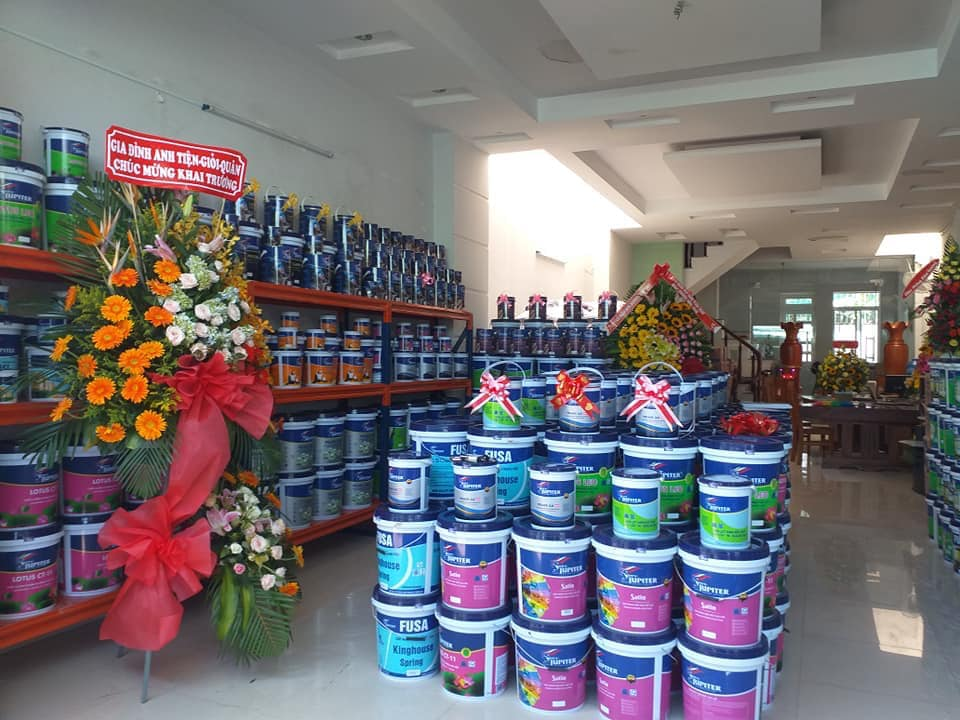 Những tiện íchcần có khi thiết kế cửa hàng sơn nước