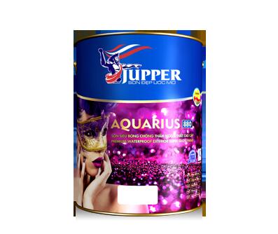 Sơn siêu bóng chống thấm ngoại thất cao cấp Jupper Aquarius