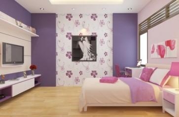 Các kiểu sơn trang trí ấn tượng cho tường nhà