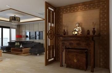 Mẫu Phòng Thờ Đẹp Cho Chung Cư Và Biệt Thự