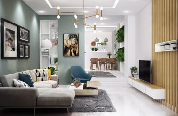 Những cách phối màu sơn nội thất đẹp và sang trọng
