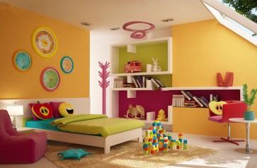 Màu sơn đẹp dành cho phòng của Bé