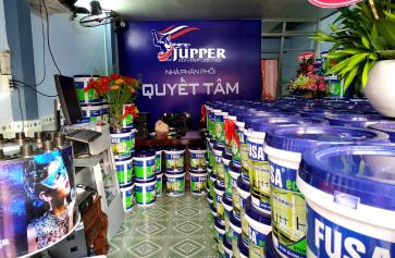 Hướng dẫn mở đại lý sơn Jupper