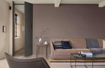 Cách phối sơn nhà màu Nâu đẹp