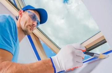 Kỹ thuật sơn tường tiếp giáp với trần nhà